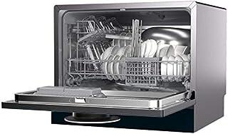 WYZXR Lavavajillas para Cocina, 6 Lugares, Lavado rápido, Almacenamiento de Secado, Ahorro de Electricidad, Lavavajillas de mostrador Compacto Apto para 6-8 Personas (1250W, 220V)