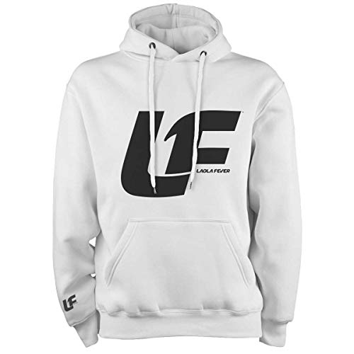LAOLAFEVER® Fußball Hoodie Logo I Größen S - XXL I A BRAYCE® Collaboration (XL, Schwarz)