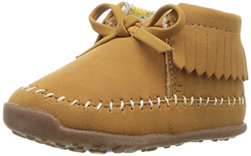 Carter's Every Step Girls' Stage 3 Walk, Gilly-WG Fashion Boot, Khaki,6.0 M US (12-18 Months)