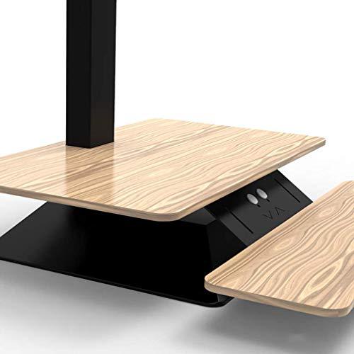 MU Elektrische Haushalts-Sitz-Stand-Schreibtisch-Aufstiegs- / Abstiegs-Werktisch-elektrischer Klapptisch-PC-Arbeitsplatz-höhenverstellbarer Tisch-Monitor/Tastatur-Aufstieg,B