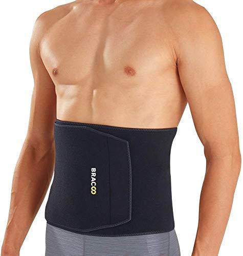 BRACOO SE22 extra-breit Bauchweggürtel - Damen & Herren - Hot Belt - Schwitzgürtel - Waist Trimmer - Schnell & Einfach Abnehmen mit dem Fitnessgürtel (L/XL)