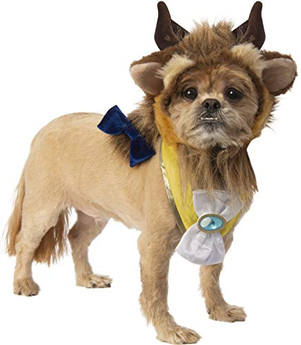 Rubie's Disney Beauty & The Beast Pet Costume Accessory Set,...