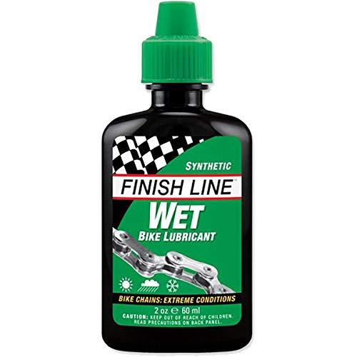 Finish Line Wet Bike Lubrificante per catene, Spray -246ml