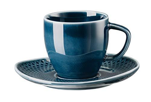 Rosenthal 10540-405202-14715 Junto Ocean Blue Espressotasse 2tlg (1 Set)