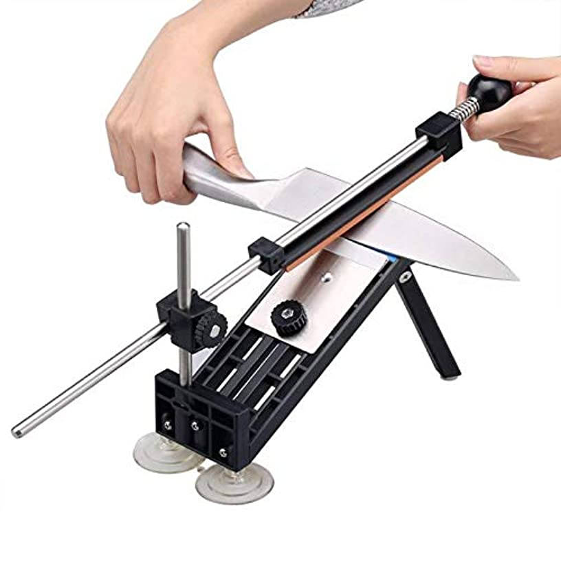 Virgenu Knife Sharpener Fix-angle With 4 Stones Home Kitchen Dining Bar Knives Cutlery