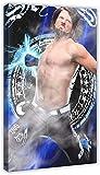 Lienzo De Impresión Famoso Combate de Boxeo Allen Neal Jones & A.J.Estilos Deportes Poster 15 Dormitorio Decoración Regalo 60x80cm Sin Marco