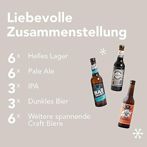 Foodist Premium Craft Beer Adventskalender 2020 - Internationale Biere als Geschenk-Set mit ausgefallenen Biersorten aus der ganzen Welt inkl. Tasting-und Rezeptbuch für Erwachsene (24 x 0.33l) - 3