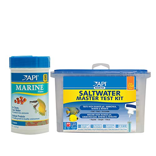 Recommended Product: API Saltwater Master Test Kit