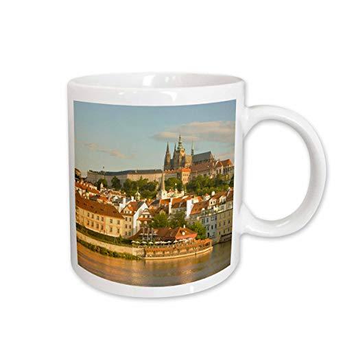 3dRose Tasse 81234_ 1Karlsbrücke, Prag, Tschechische Republik EU06sws0019Stuart Westmorland Keramik Tasse, 11-Ounce