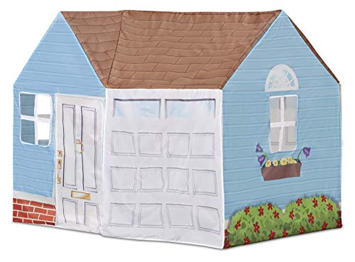 Kid Trax Easy Pop Up Kids Magical Play Tent, Large Front and Rear Openings, Carrying Case Included, Easy Storage, House