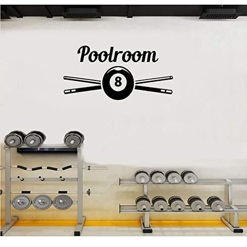 Aufkleber Sport Billard Billard Snooker Player Aufkleber Poster Tischkugel Sport für Poolroom
