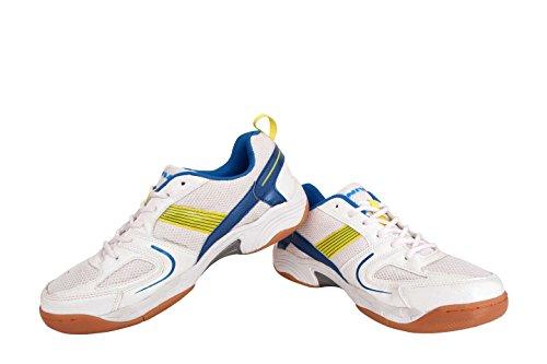 Nike Nivia Smash Shoe - 8 (White:Aster Blue_8UK)