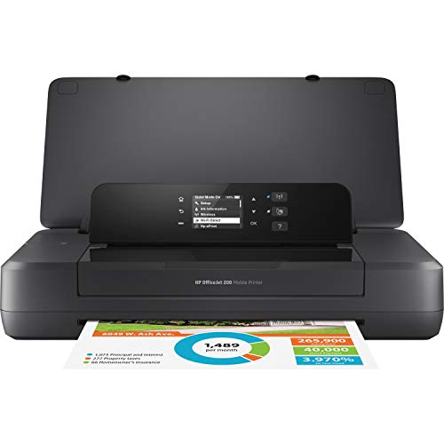 HP OfficeJet 200 Portable Printer with...