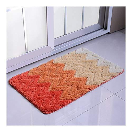 Tapijt Fluffy Maten Bathroom Area Bedside Vloer Vloerbedekking Rug Deurmat Buiten Extra Duurzaam (Color : C, Size : 50 * 80cm)