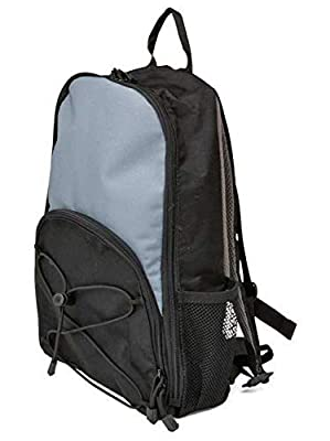 Kangaroo Joey Bag For Feeding Pumps - Backpack For Feed Pumps, 500mL or 1000mL,Black and Gray