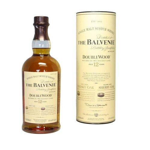 Balvenie 12 years Doublewood Pure Malt Scotch Whisky 40% 1,0l Flasche