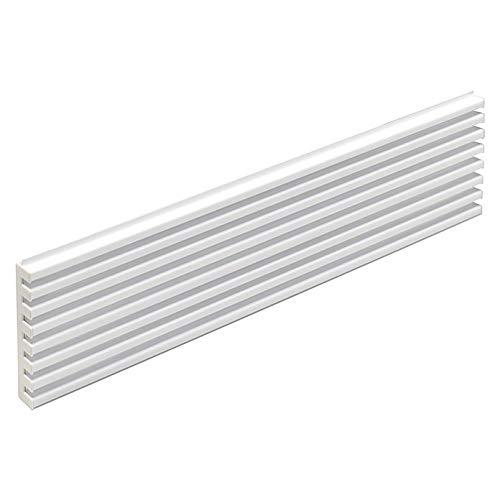 Rejilla Ventilacion Horno 8 lamas Blancas 60 ctm