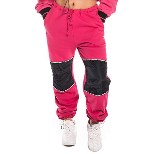 GRIMEY PANTALÓN Chica Nemesis Polar Sweatpant FW18 Pink-M