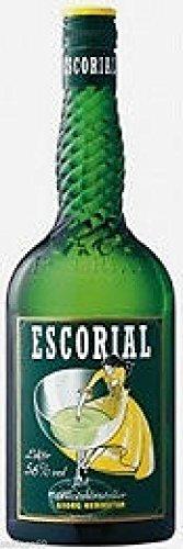 6 Flaschen Escorial grün trocken 56% a 0,7L Orginal Kräüterspezialität mit Anis