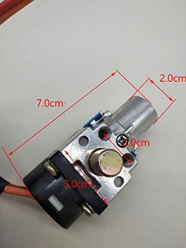 NO-LOGO XFC-DIAN, Interruptor de Encendido de la Motocicleta Universal Llave de Cabeza...