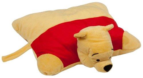 """Bear Disney Winnie The Pooh 18"""" KuscheltierKissen Winnie The Pooh Plüschtier Kuschelkissen 46 cm 2in1 Animal Pets Pillow"""