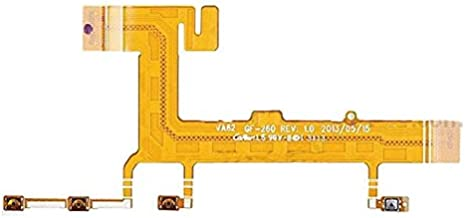 Xphone Mobile Phone New Power Button & Volume Button Side Keys Flex Cable Ribbon Replacement Parts for Nokia Lumia 625
