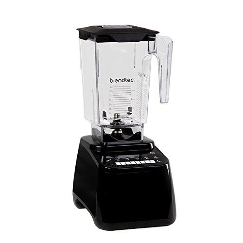 Blendtec Designer Series Blender-WildSide+ Jar-Professional-Grade Power-Self-Cleaning-6 Pre-Programmed Cycles-8-Speeds-Sleek and Slim, 90 oz, Black