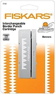 Fiskars 57861000 Cartouche perforatrice de lisière Interchangeable-fanions, Multicolore, Unique