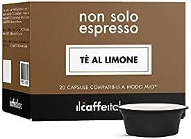 FRHOME Il Caffè Italiano Capsule compatibili con A Modo Mio, Tè al Limone, Confezione da 80 Capsule