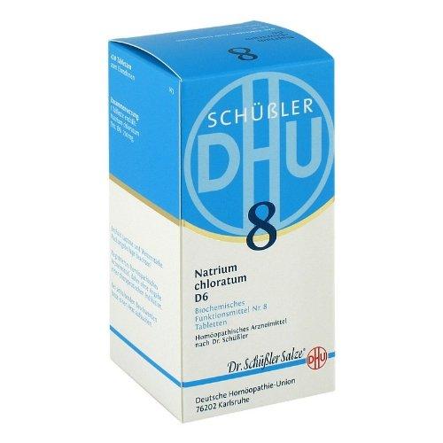 DHU Schüßler-Salz Nr. 8 Natrium chloratum D6 Tabletten, 420 St. Tabletten