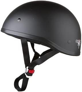 Skid Lid Original Helmet (Flat Black, Large) (646633)