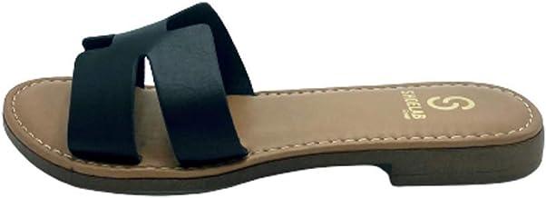 Ritmo Shoes Ciabattine Flat a Fascia in Pelle