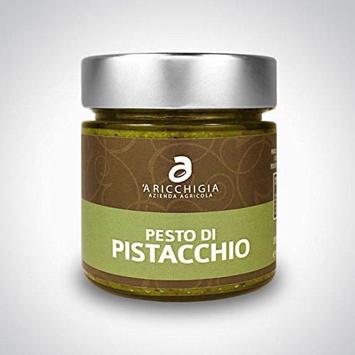 A RICCHIGIA – BRONTE PISTACHIO PESTO D.O.P. VASO GR. 190
