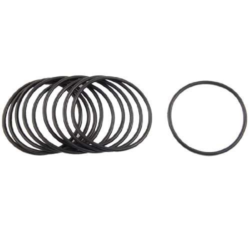 10 Stks Zwart Nitril Rubber O Ring Zegel 68mm x 75mm x 3.5mm
