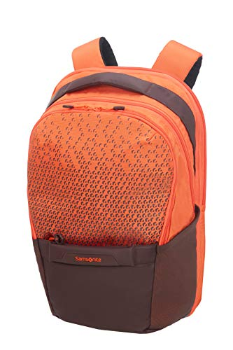 SAMSONITE Hexa-Packs - Laptop Backpack Medium Expandable - Work Rucksack, 48 cm, 25 Liter, Orange Print