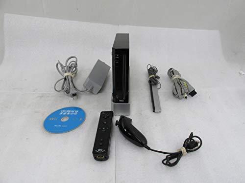 Nintendo Paquet Matériel Wii - La Télécommande noir