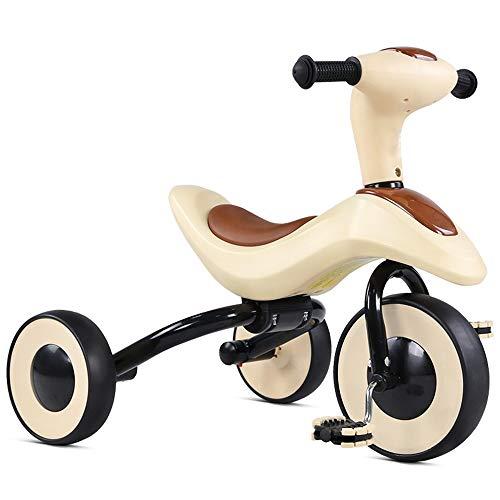 Nologo WMKEDY Home Fitness, Kinder Tricycle Baby-Fahrrad-faltbares Fahrrad Spielzeug Jeder Tricycle Beats Stellt Sich auf die Länge Geeignet for Kinder 2-5 Jahre alt, Abdominal Exercise