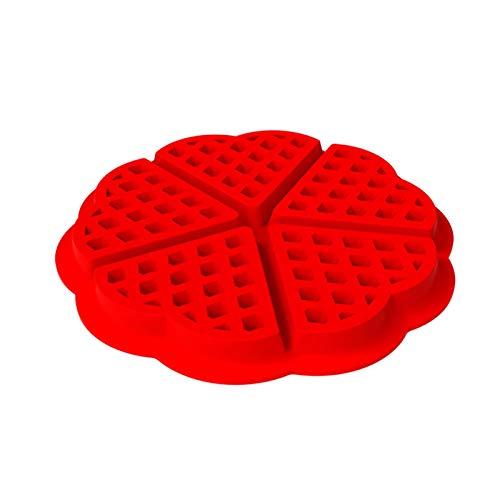 Waffelkeksform - Waffeln Formkuchenform Silikon Waffelform ,können In Öfen Mikrowellen Und Kühlschränken Verwendet Werden