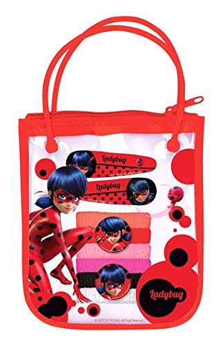 Gabbiano Miraculous Ladybug Hair Accesories Gift Bag, Red, Small