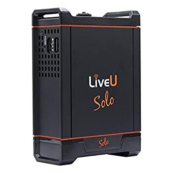 LiveU Solo Wireless Live Video Streaming Encoder for Facebook Live Twitch YouTube and Twitter Live Video Streams