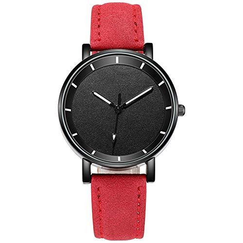 JZDH Relojes para Mujer Relojes Mujeres Magnético Starry Sky Woman Reloj Wristwatch Moda Moda Reloj de Pulsera Relojes Decorativos Casuales para Niñas Damas (Color : White)