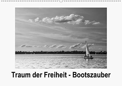 Traum der Freiheit - Bootszauber (Wandkalender 2020 DIN A2 quer): Niemand kann sich der Sehnsucht entziehen, die der Anblick von Booten auslöst (Monatskalender, 14 Seiten ) (CALVENDO Mobilitaet)