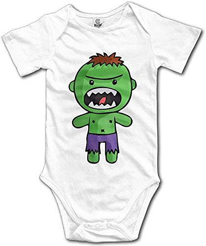 FGRFQ Combinaison Bébé The Cutest Cartoon Hulk Baby Girls/Boys Short Sleeve