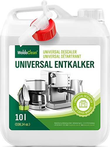 WoldoClean Descalcificador para máquinas de café esprreso manuales y automáticas 10 litros
