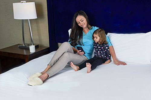 Twin Size Mattress Protector Bedbug Waterproof Zippered Encasement Hypoallergenic Premium Quality Cover Protects Against Dust Mites Allergens