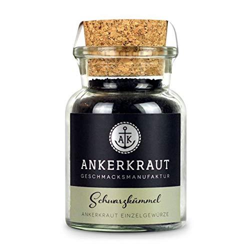 Ankerkraut Schwarzkümmel, ganze Schwarzkümmel-Samen kaufen, 80g im Korkenglas