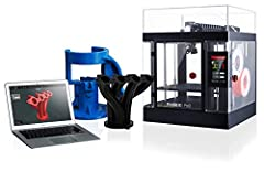 """Dual Extruder Electronic driven lifting 4× increased torque performance Diverse Filament Compatibility (300℃) Huge Build Volume (12*12*11 8 in) Minimum 0 01mm Layer Height Filament Sensor / Camera / HEPA Filter 7"""" Touch Screen Resume Print after Powe..."""