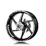 Llantas de la rueda de la motocicleta Pegatinas reflectantes Calcomanías de neumáticos Moto Accesorios decorativos Conjunto para HONDA CB500F CB500 Motocicleta Llanta Decal