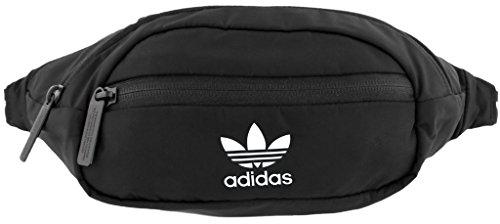 adidas Originals National Taillensack, Unisex-Erwachsene, schwarz / weiß, Einheitsgröße