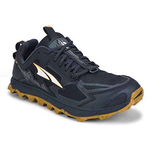 ALTRA Men's AL0A4PE5 Lone Peak 4.5 Trail Running Shoe, Carbon Blue - 10 M US